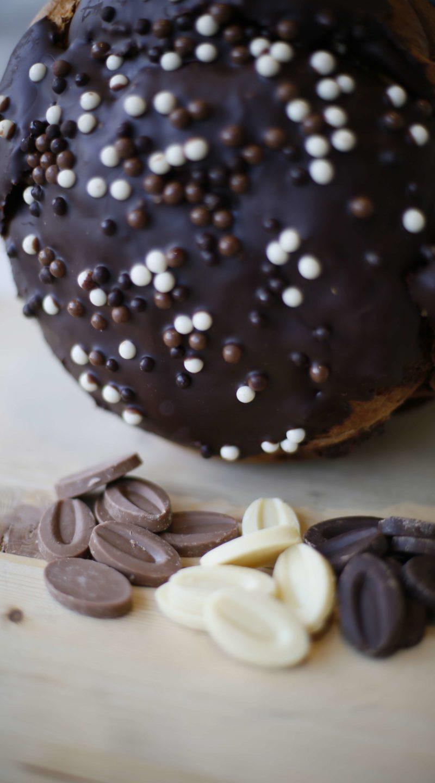 Panettone trilogia di cioccolato